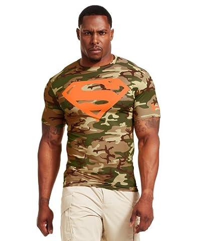 Under Armour Mens Alter Ego Short Sleeve Compression Shirt XXX-Large Vegas Gold