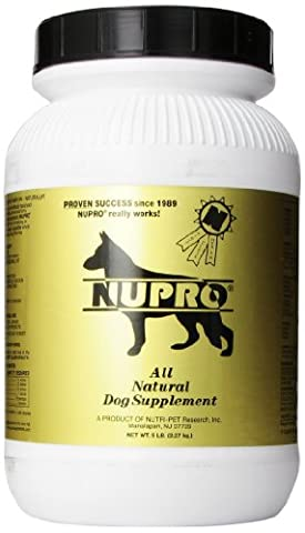 Nutri-Pet Research Nupro Dog Supplement, 5-Pound by Nupro (Nutri Supplement)