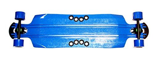 Objektiv Boards Hafer Soda DTP Skateboard-Blau, 108,0cm -
