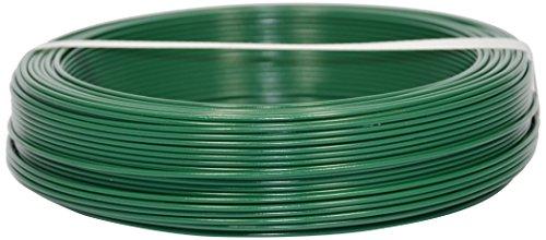 Corderie Italiane 002014072 Fil de fer plastifié, 1,8 mm - 100 m, Vert
