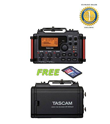Tascam DR-60DmkII 4 canales Grabador portátil tarjeta