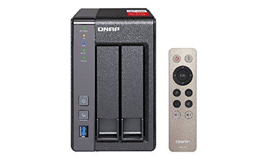 Qnap TS-251+-2G 2-Bay 16TB Bundle mit 2X 8TB IronWolf ST8000VN0022 | 0721456173215