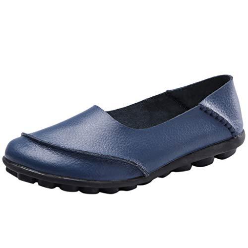 Maleya Frauen große einfarbige weiche Unterseite Bequeme Schuhe Retro Krankenschwester Schuhe Soft Bottom Schnürschuhe Warm halten Schneeschuhe Round Toe Sportschuhe High-Top Freizeitschuhe große -