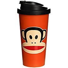 Paul Frank F20101004 - Vaso tipo Starbucks, color naranja