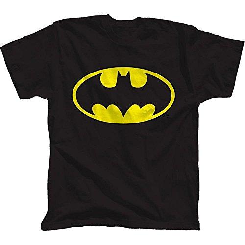 Batman Glow Ink Classic Logo Youth T-Shirt(XXX-Large) (Glow Youth-t-shirt)