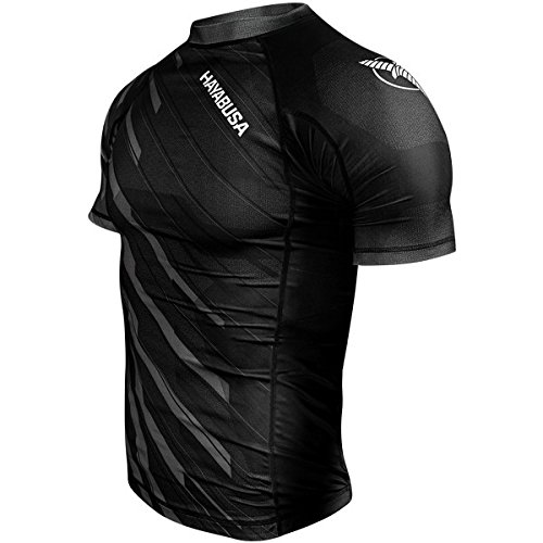 Hayabusa Metaru Charged Short Sleeve Rashguard Black -