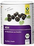 Raab Vitalfood Bio Acai-Pulver mit Polyphenolen & Anthocyanen, vegan, glutenfrei, Wunderbeere aus Brasilien, ohne Zusätze, laborgeprüft in Deutschland, 80 g Dose