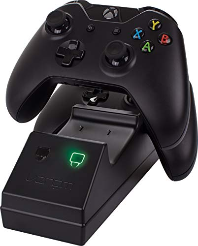 Venom Twin Docking Station für Xbox One – Ladestation für Xbox one Controller inklusive 2 Zusatz Akkus - 5
