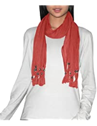 Womens Comfortable & Super-Soft Neckerchief With Dangle Charms