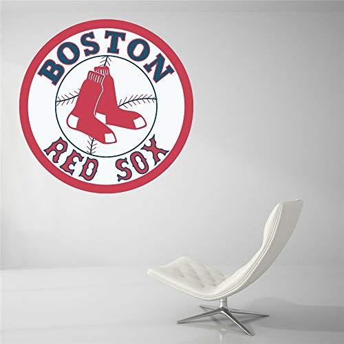 Wandtattoo Boston Red Sox Baseball Team Zeichen Wand Dekor MLB Logo Wand Aufkleber Vinyl Dekor Zimmer Auto Aufkleber Kunst