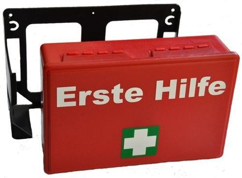 2 x Erste Hilfe Koffer K-04 rot, leer ohne Inhalt