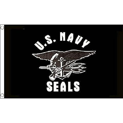 Us Navy Seals bandiera Usa Military 1,52 Meters X 0,91 Meters-Striscione con 2 occhielli in metallo, nuova