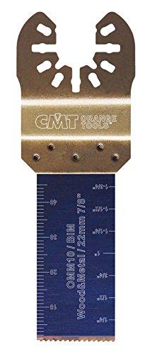 CMT :Lame bi-métal 22 mm plongeante et de coupe à ras / bois - métaux multi-marques OMM10