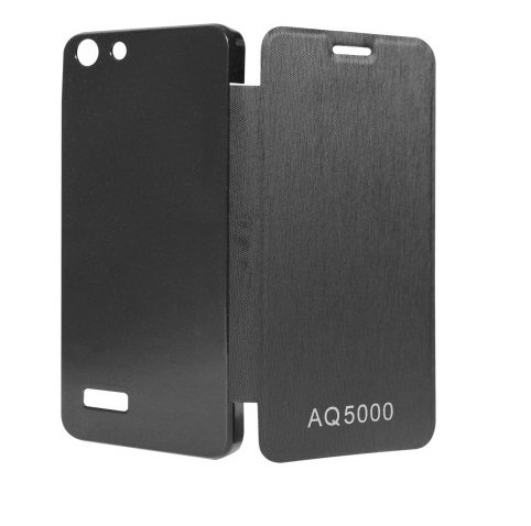 Flip Back Cover Case for Micromax Canvas Hue(AQ5000) Black By Yash Enterprises  available at amazon for Rs.149