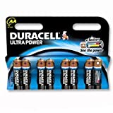 Brand New. Duracell Ultra Power MX1500 Battery Alkaline 1.5V AA Ref 81235497 [Pack 8]