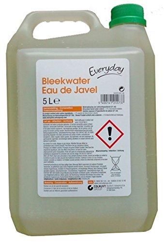 Javel Bleichwasser Eau de Javel Bleekwater 5 Liter