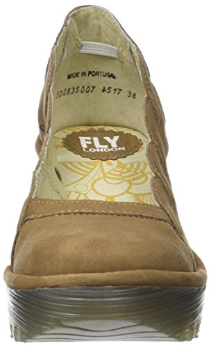 FLY London Damen Yelk835fly Pumps Braun (Sand)