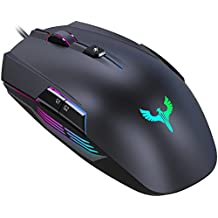 Gaming Mouse, BLADE HAWKS Wired Gaming Mouse PC Computer 4000 DPI Adjustable, 8 Buttons, LED Backlight for Pro Gamer Win 10/8/7/XP Vista Mac OS