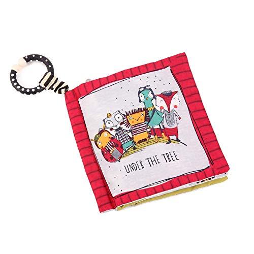 SNIIA Baby Soft Book, interaktive Soft Books für Neugeborene Tuch Buch Baby Geschenk Beste pädagogisches Spielzeug für Kleinkinder Vorschule Jungen und Mädchen