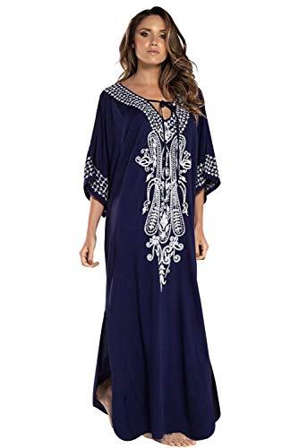 Vestido Largo Verano Mujer Bohemio Maxi Dress Estampado