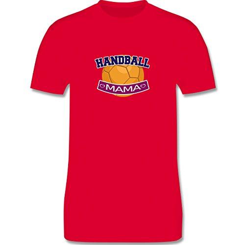 Handball - Handball Mama - Herren Premium T-Shirt Rot