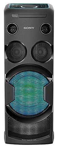 Sony MHC-V50D Chaîne High-Power monobloc DJ - Noir