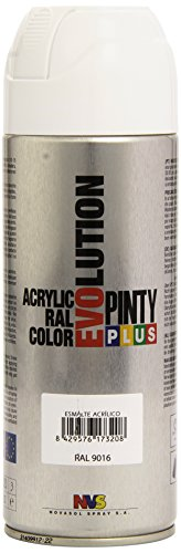 Pintyplus Evolution - Pintura spray acril. 520cc. Blanco 9016/602
