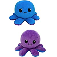 Reversible Octopus Side Changing Octopus Soft Toy Mini Plush - Stuffed Animal Toy | Show Your Mood Without Saying a Word…