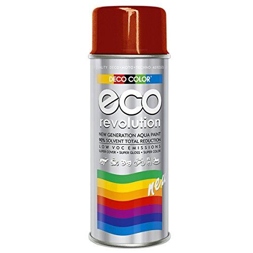 Preisvergleich Produktbild DC ECO Lackspray glänzend matt 400ml nach RAL freie Farbauswahl (Rot glanz RAL 3000)