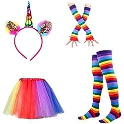 BESTOYARD Tutu Suit Party Princess Dance Dress Ruffle Tiered Fotografía Vestido de falda de tutú en capas para niños