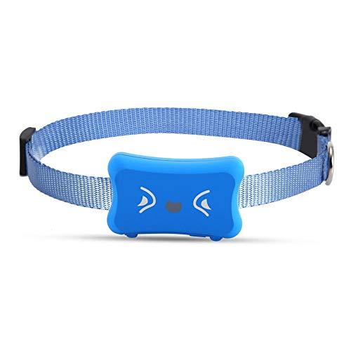 Rastreador de Mascotas GPS a Prueba de Agua Perros Gatos Localizador en...