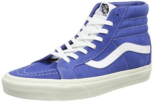 Vans Herren Sk8-Hi Reissue Laufschuhe, Blau (Delftretro Sport), 41 EU (Sneakers Vans Skateboard Schuhe)