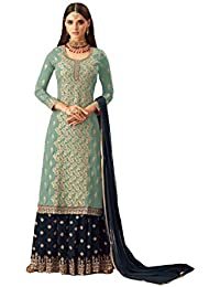 079dee46d33a Amazon.in: Sharara - Dress Material / Ethnic Wear: Clothing ...