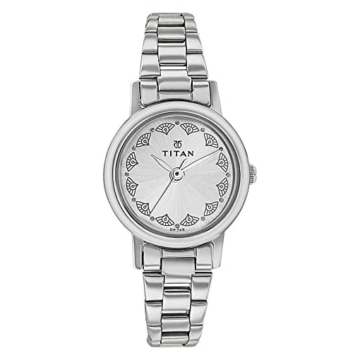41McI1qelgL. SS510  - Titan 917sm03 Women Silver watch