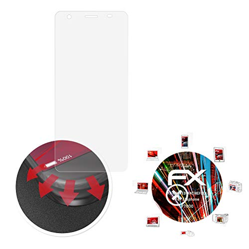 atFolix Schutzfolie passend für Elephone P7000 Folie, entspiegelnde & Flexible FX Bildschirmschutzfolie (3X)
