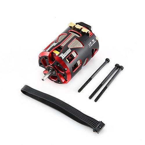 8Eninine Rocket 540 17.5T Motor Brushless Motor Brushless Motor per 1/10 RC Car Black & Red