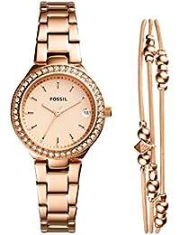 Fossil Damen-Armbanduhr ES4337SET