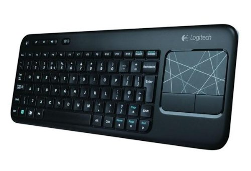 Foto Logitech Touch K400 Tastiera Wireless con Touch-Pad Integrato, Nero [Layout Italiano QWERTY]