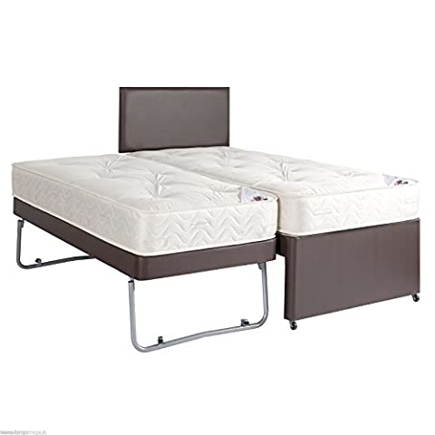 3ft Single Guest Bed 3 In 1 With Mattress Pullout
