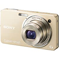 Sony - Cyber-shot DSC-WX1 - Digital camera - compact - 10.2 Mpix - optical zoom: 5 x - supported memory: MS Duo, MS PRO Duo, MS PRO-HG Duo - gold