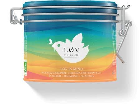Løv Organic - Summer in Løv - Mischung aus Hibiskus und Früchten, mit Steinfrucht- und Wassermelonenaromen - Metalldose (100g)
