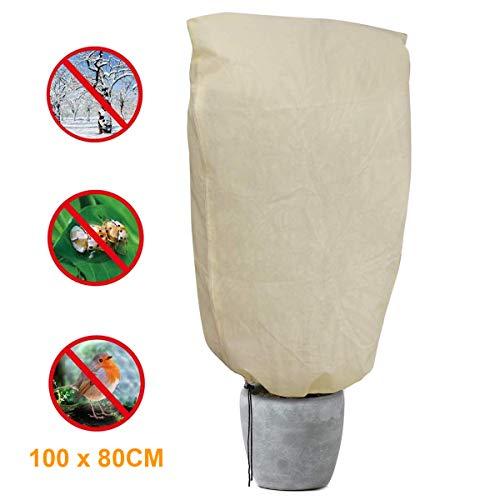 landrip sacco di protezione invernale per piante - teli protettivi per piante (100x80cm)