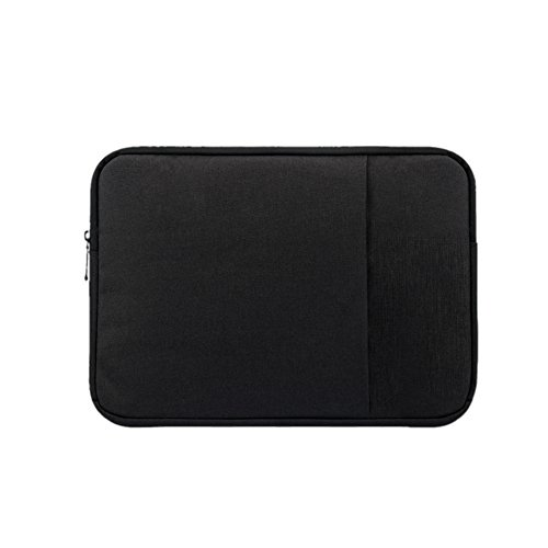 14 pulgada Laptop Caso Funda Estuche Sleeve Bolsa para Computadora portátil/ New Macbook/ Macbook Pro/ Macbook Air/ Ultrabook Negro