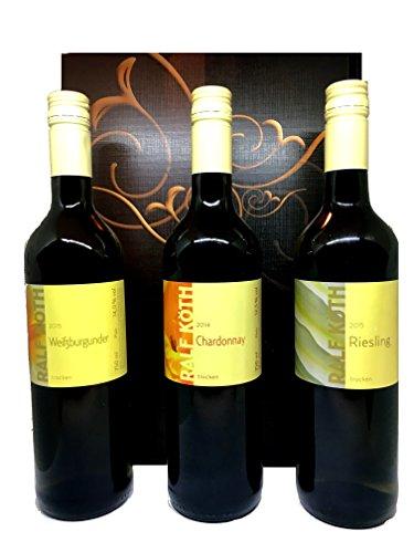 Weinset Weingut Köth Weißwein im Geschenkkarton