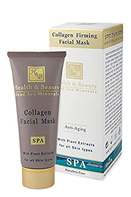 Health & Beauty Collagen Firming Facial Mask, 100 ml from H&B