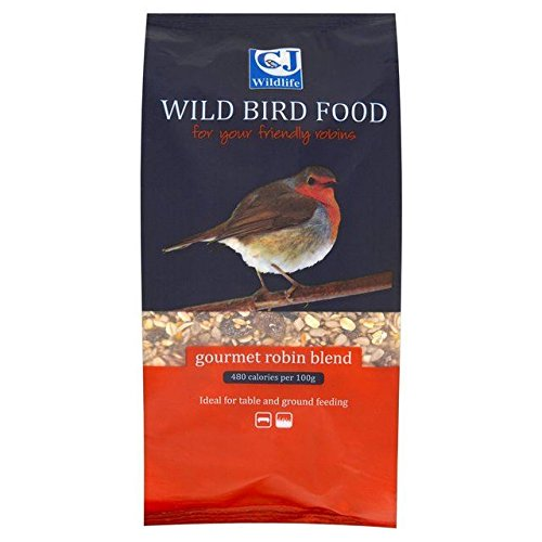 CJ Wildlife Gourmet Robin mezcla pájaro alimentos 1,5L 0,9kg