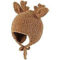 zZZ Sombreros Infantiles, Sombreros de Abrigo for otoño e Invierno, Sombreros del bebé for Hombres y Mujeres, Lindo Sombreros de Invierno a Prueba de Viento (Camello) Comodidad.