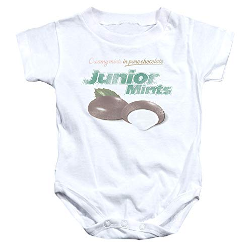 inkind Junior Mints Logo-Strampler, 24 Months, White ()