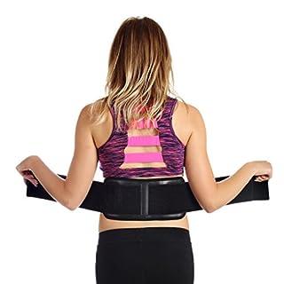 Verstellbare Lendenwirbelstütze/Massage-Korsett als selbsterwärmender Magnettherapie-Gürtel für den unteren Rücken für Schmerzlinderung und Stressabbau von Ziraki, von FDA genehmigt
