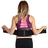 Ziraki, banda lumbar ajustable para masaje en la parte baja de la espalda ★ Autocalentamiento, terapia Magnética, cinturón aprobado por la FDA para aliviar el dolor y el estrés